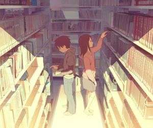 anime, book, and boy image