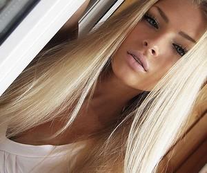blond hair, alena shishkova, and russia image