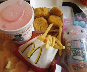 hello kitty, food, and McDonalds image