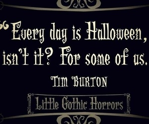gothic, Halloween, and tim image