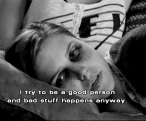 one tree hill, quote, and sad image