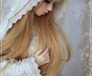 bjd, female, and bjd doll image