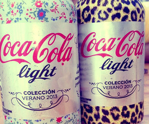 coca cola, light, and drink image