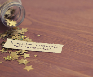 dreamer, stars, and words image