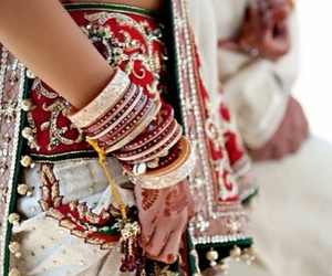 beautiful, bride, and dulhan image