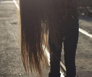 metalhead and long haired image