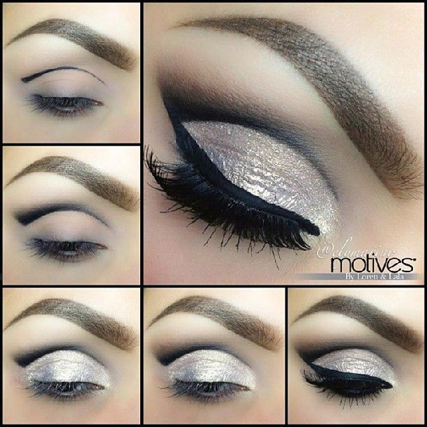 Image About Black In Make Up By Fernanda C On We Heart It