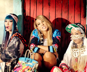 2ne1, acessories, and bandanna image
