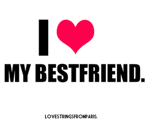 friends, best friend, and heart image