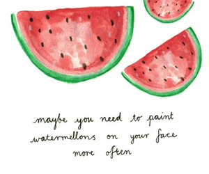 quote and fruit image