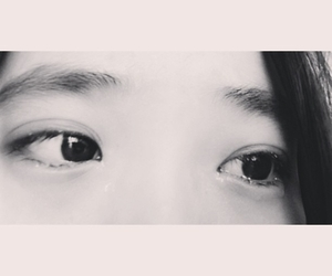 asian, crying, and eye image