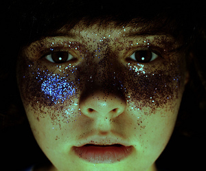 glitter and girl image