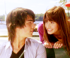 camp rock, couple, and demi lovato image