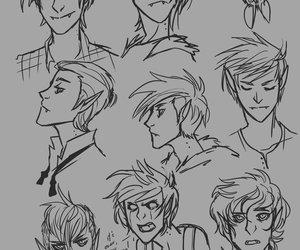 draws, expressions, and lol image