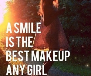 smile, girl, and quotes image