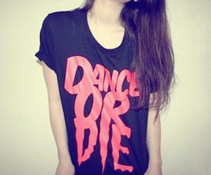 dance, girl, and shirt image