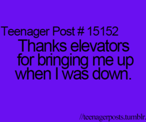 elevators, funny, and teenager post image