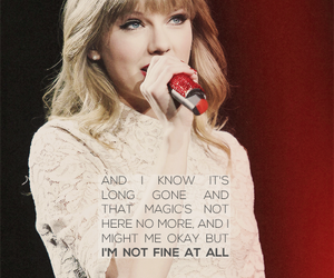 Taylor Swift and all too well image
