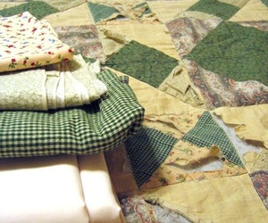 care, quilt, and mending image