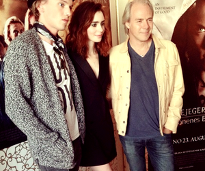 the mortal instruments, lily collins, and Jamie Campbell Bower image
