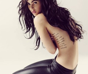 art, girls back, and quotes tattoo image