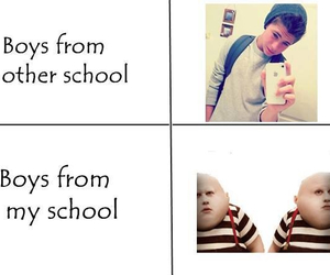 boy, school, and true image