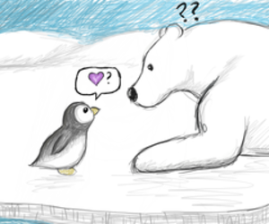 animals, penguin, and cute image