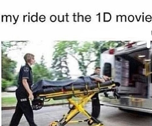 one direction, funny, and movie image