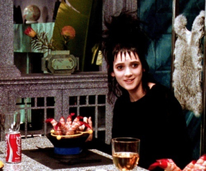 beetlejuice, winona ryder, and tim burton image