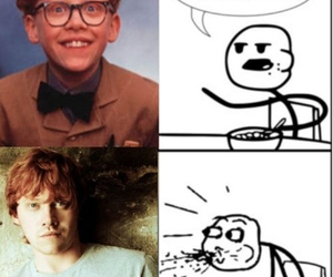 rupert grint, harry potter, and cereal guy image