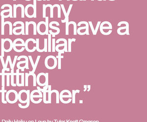 hands, love, and together image