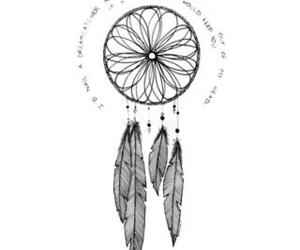 dreamcatcher, dreams, and feather image
