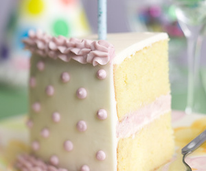 cake and candle image