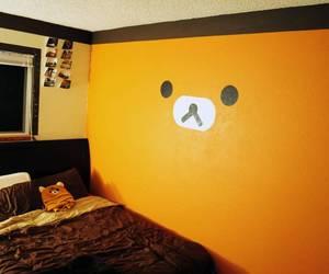 cute, room, and rilakkuma image