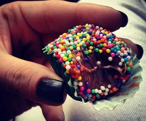chocolate, brigadeiro, and delicious image