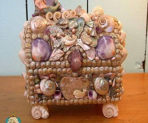 box, sea, and shell image