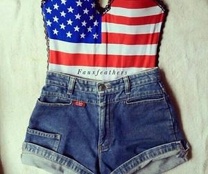 fashion, usa, and shorts image