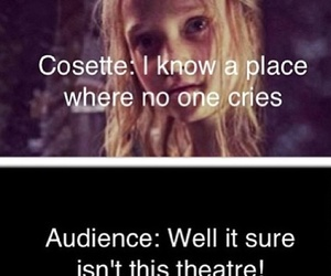 cosette, les miserables, and musical image