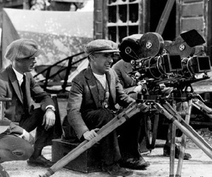 black and white, charlie chaplin, and vintage image
