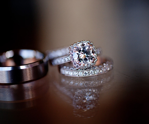 love, ring, and diamond image
