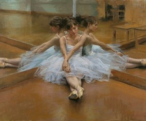 art, ballet, and vicente romero redondo image
