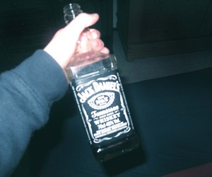alcohol, grunge, and jack daniels image