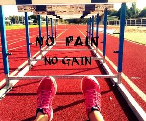 sport, run, and running image
