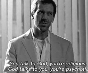 god, dr house, and house image