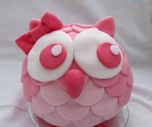 owl, cupcake, and dessert image