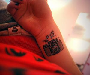 camera and tattoo image