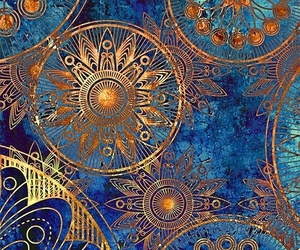 artistic, circles, and colors image