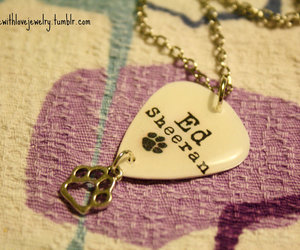 necklace and ed sheeran image