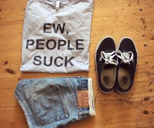 ideas, vans, and remera image