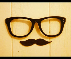 hipster and moustache image